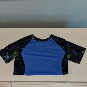 **3/7.00**Boys blue athletic t-shirt